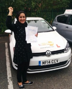 Driving instructors in Blackley